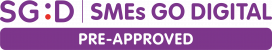 SGD SMEs G Digital Pre-Approved Logo