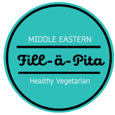 Middle Eastern Healthy Vegetarian Fill – a – pita Logo