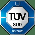 TUV SUD ISO 27001 Logo